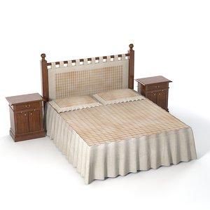 3ds max dolfi bed bedroom