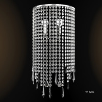 of interni classic crystal modern contemporary wall lamp sconce