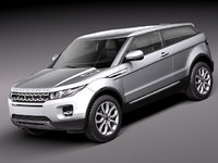 Range Rover Evoque 2012-2015 3-door