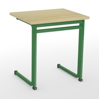 school table 3d model