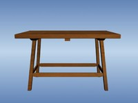 max whitehall dining table