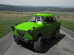 trabant 4x4 3d model