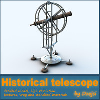 historical telescope 3ds