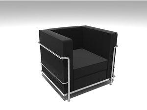 sofa cuscino loveseat 3ds