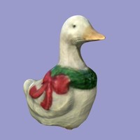 free christmas duck 3d model