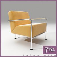 3d living room armchair colubi
