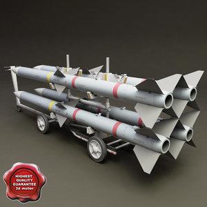 3d 3ds bomb cart v6
