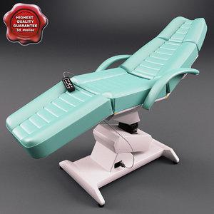 3d model dental chair v2
