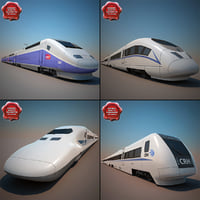 High-Speed Trains Collection V3