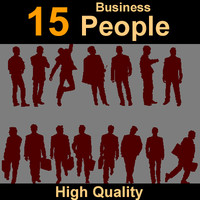 Human silhouettes business