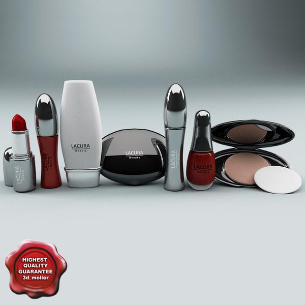 lacura cosmetics 3d model