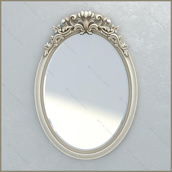 3d mirror chelini 1234 model