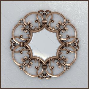 mirror devon amelie 3d obj