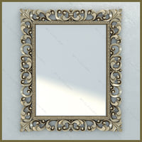 Mirror Lineatre Gold Componibile rectangular