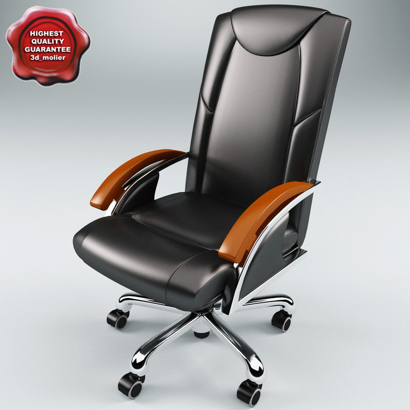 3d model office chair v5