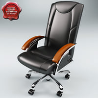 3d model office chair v5