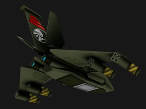 3d fighter - iphone space ship