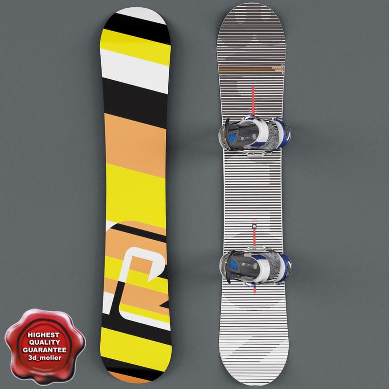 3d snowboard v1