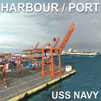 Harbour Seaport Port