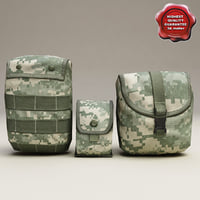 US Ammunition Pouches Collection V2