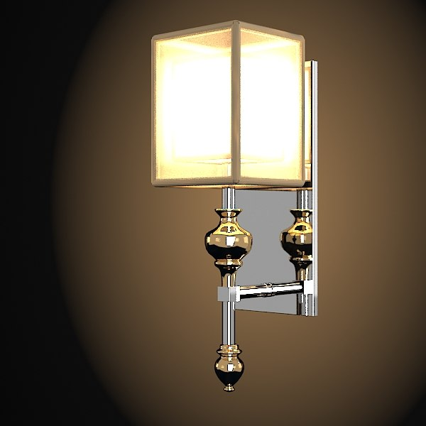 Wall Lamps 3d Model Free : 3d alexandr john richard