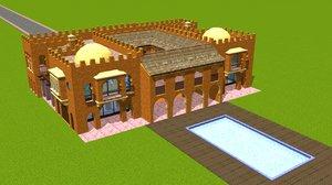 c4d arab architecture persia