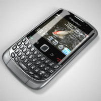 blackberry black berry 3d model