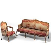 3d classic empire luxury model
