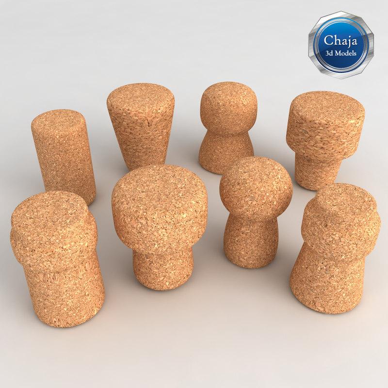 3d corks