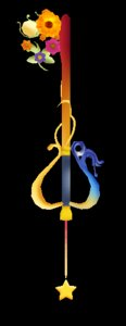 3d destiny place keyblade model