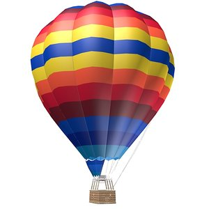 3d helium gas air model