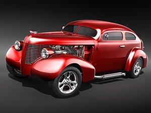 3ds pontiac 1938 hot rod