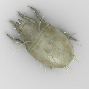 acarapis woodi mite 3ds