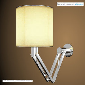 3d modular lighting nomad
