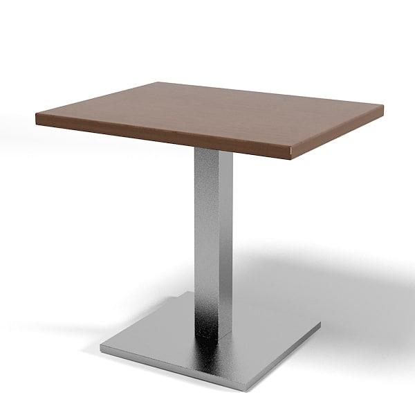 3ds montbel restaurant square for Table 9 menu
