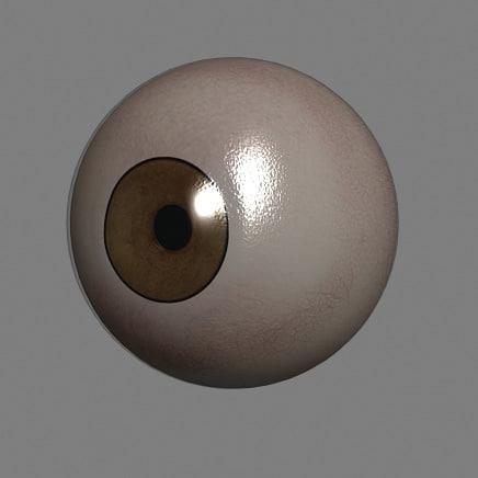 3ds max time basic eye