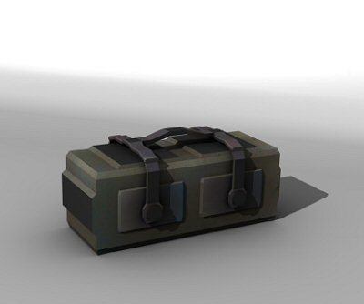 crate scifi 3d model