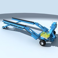 lift boatlift 3d model