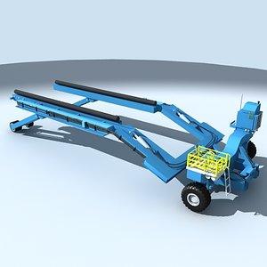 lift boatlift 3d model