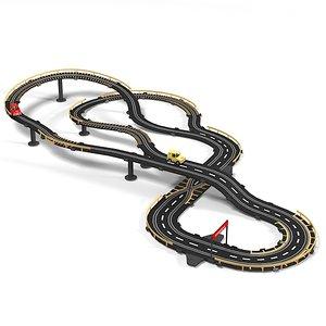 3d speed race track