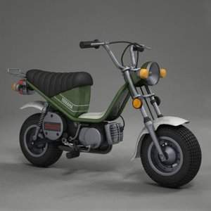 yamaha chappy 3d model
