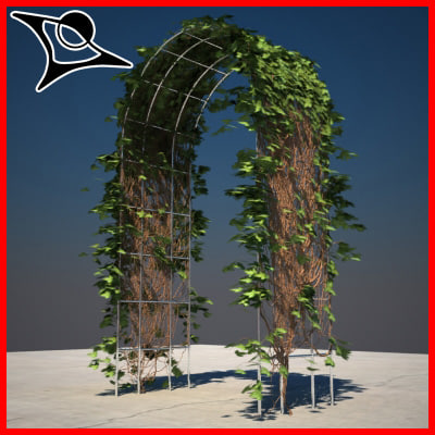 3ds max ivy