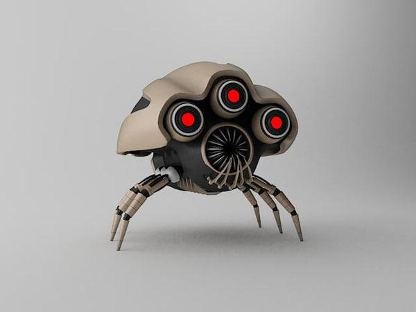 3d model robot klj120