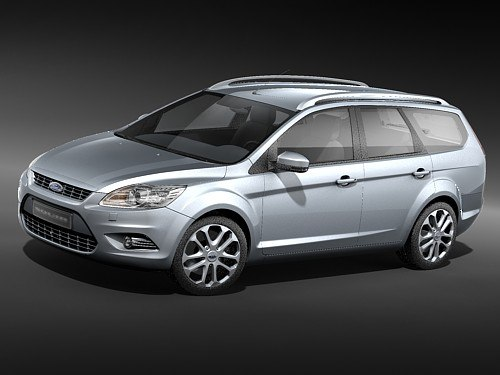 3d Model Focus 2009 Estate