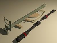 3ds max bazooka