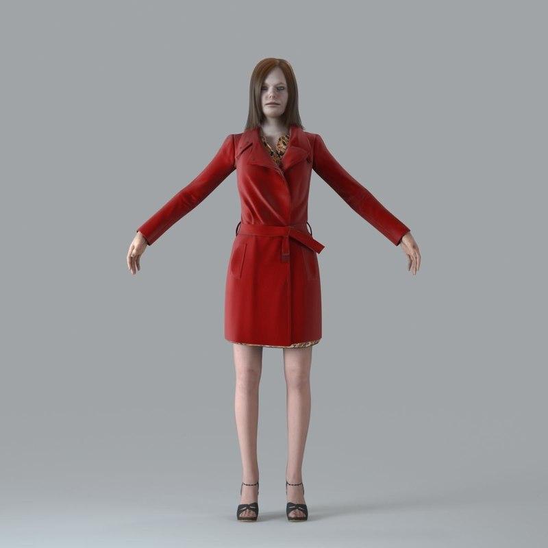 character human 3d max