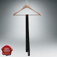 clothes hanger belt v2 3d obj