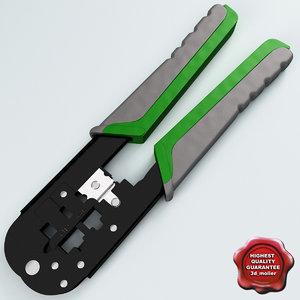 3d model crimping pliers