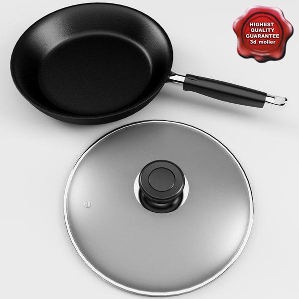 frying pan v2 3d c4d