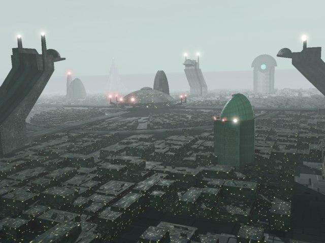 science fiction cityscape futuristic city 3d max